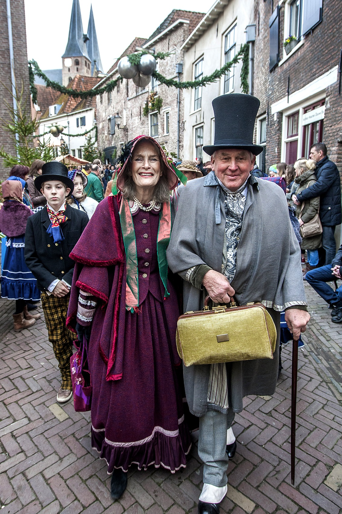 This photo has been taken from the official Dickens Festival webpage:  https://dickensfestijn.nl/.