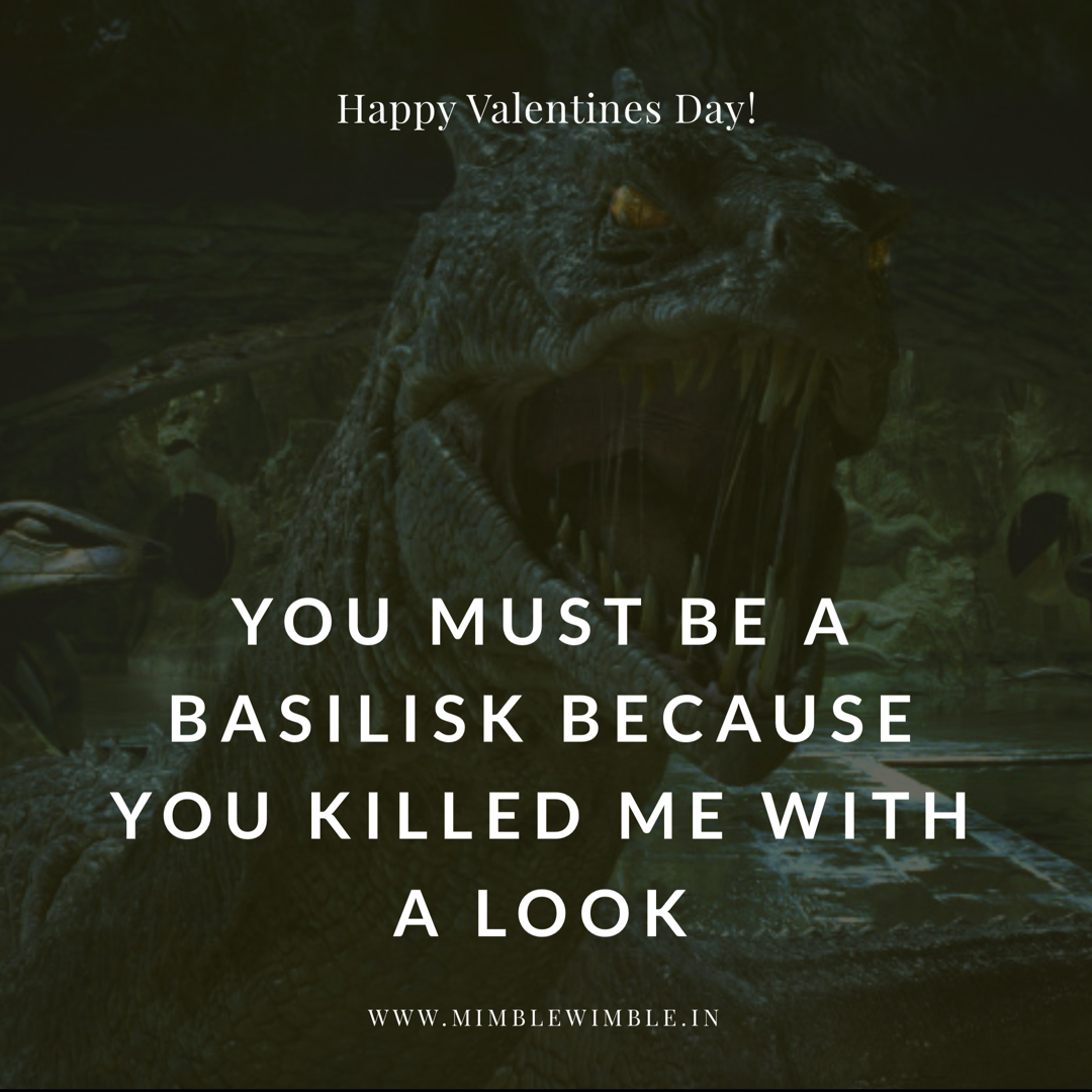 Harry Potter and the rendezvous with a Basilisk