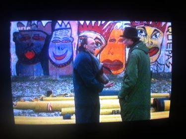 Peter Falk, Bruno Ganz, 1986, Himmel über Berlin, by Wim Wenders