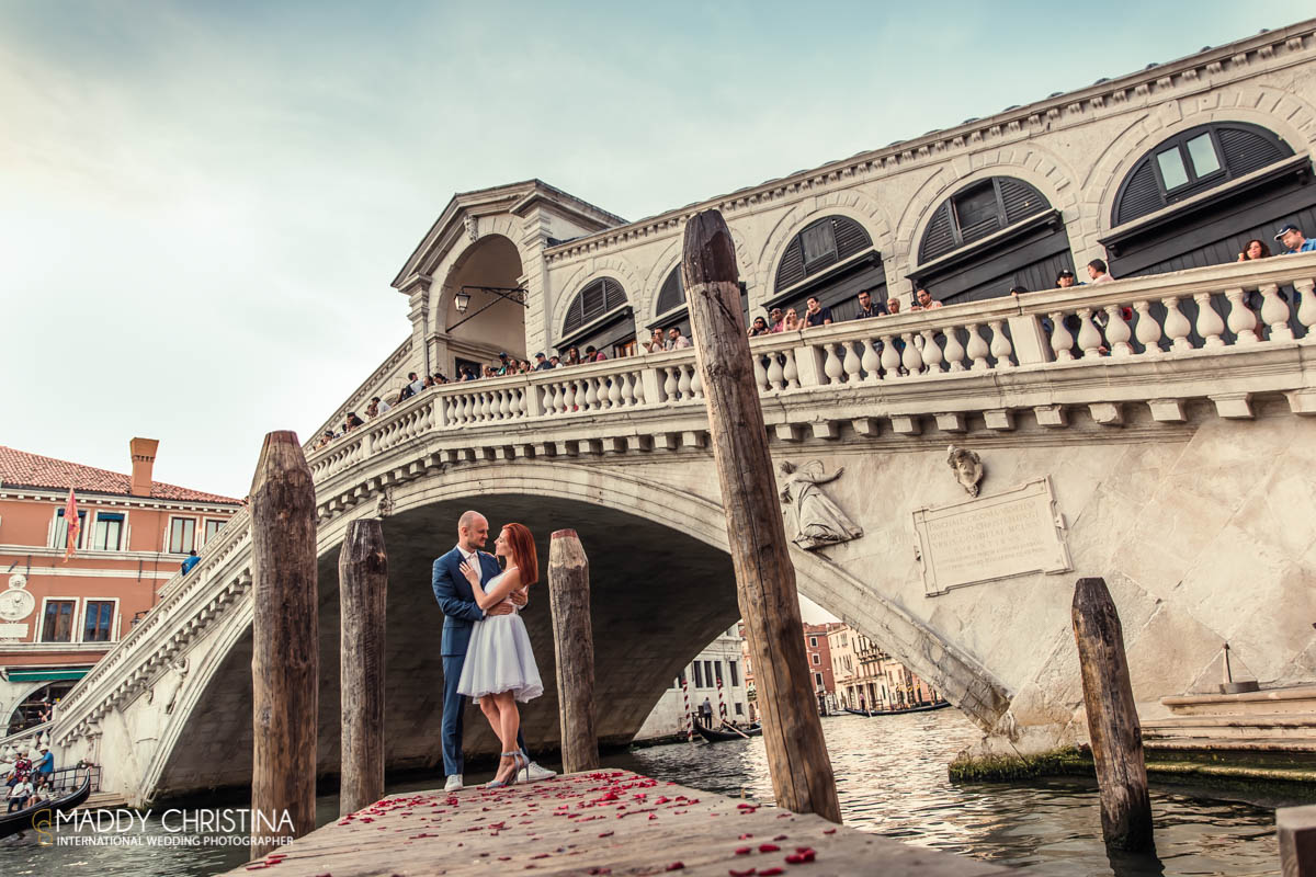 mariage, wedding, venice, venise, venisia, italy, italie, gondole, romantique , pont rialto