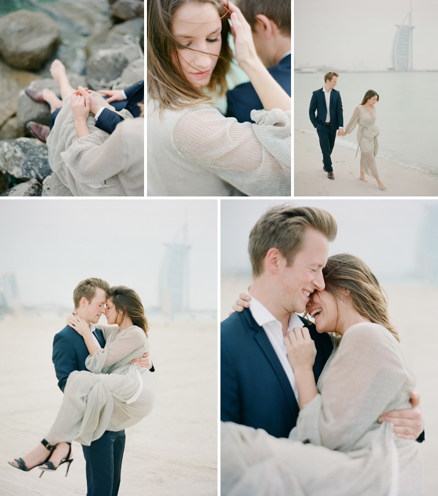 wedding photographer dubai couple engagement