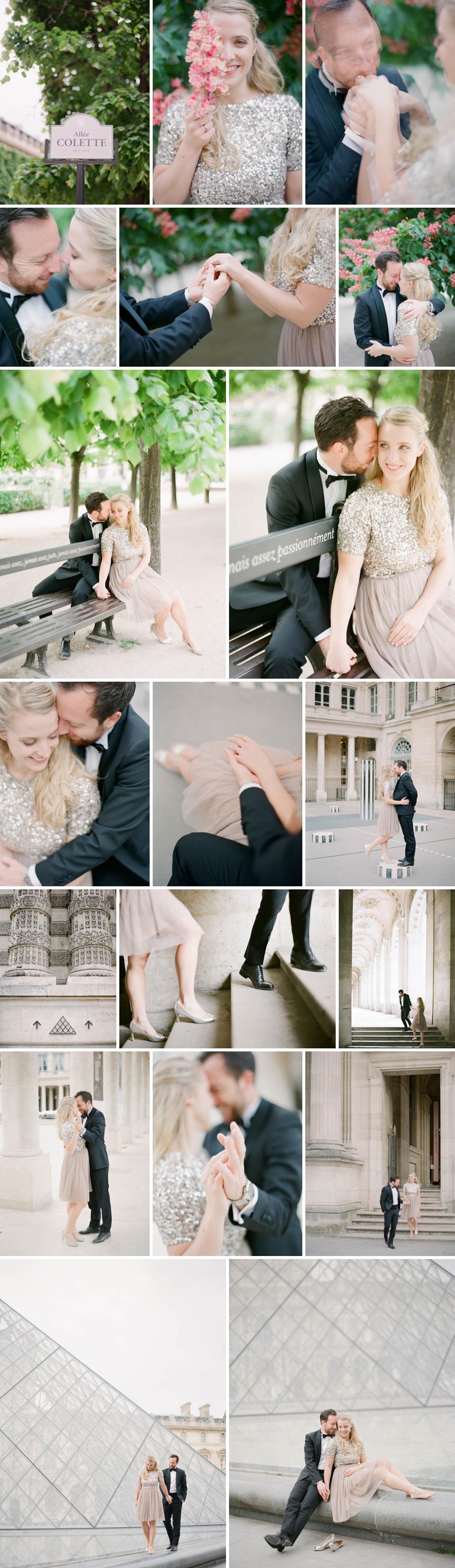 wedding photographer paris louvres palais royal seance photo