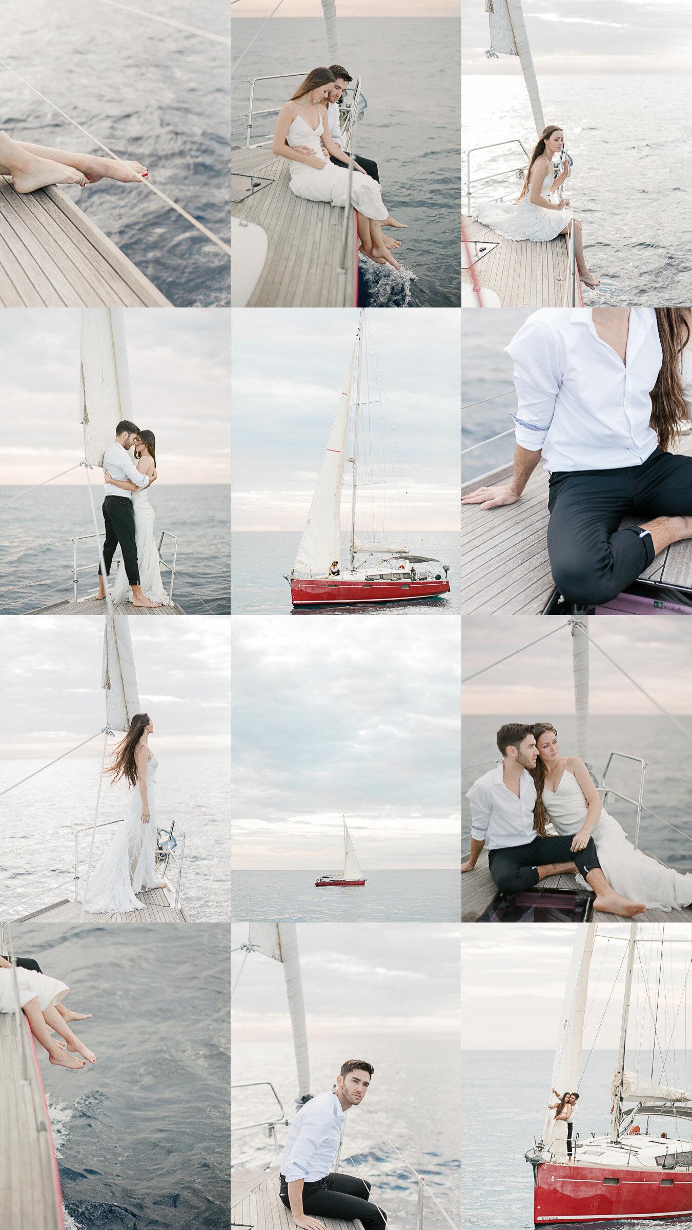 wedding boat monaco yacht