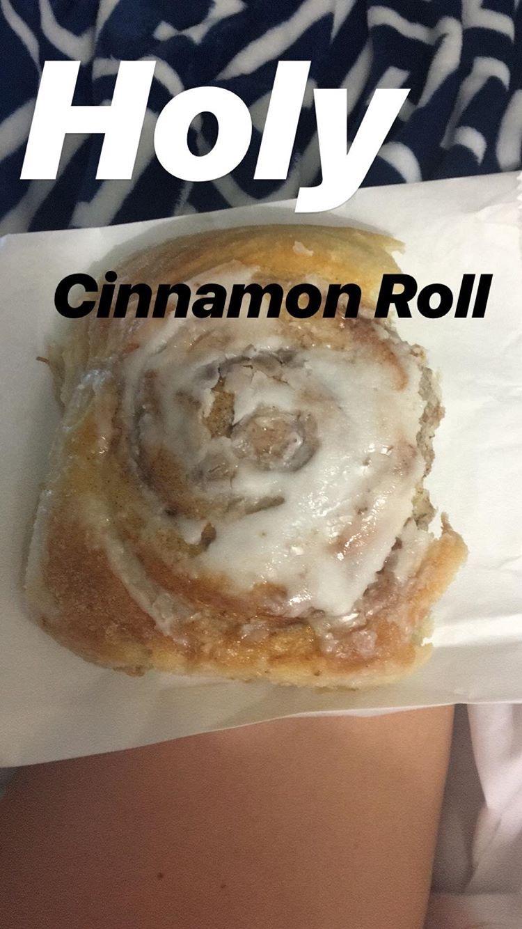 Vegan Cinnamon Roll...Who Knew?