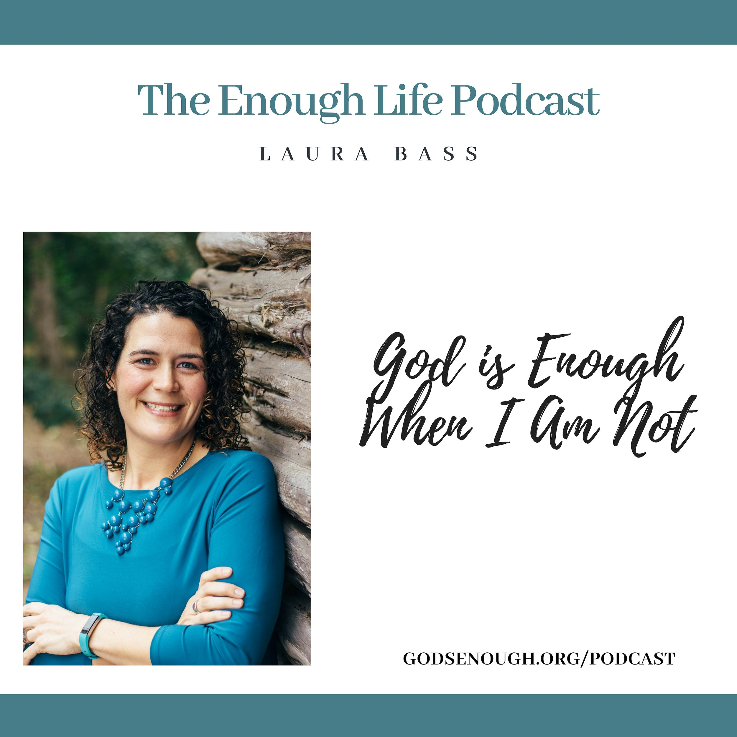 The Enough Life Podcast - Now available on Apple Podcasts, Google Play, Spotify, Stitcher, and Libsyn.