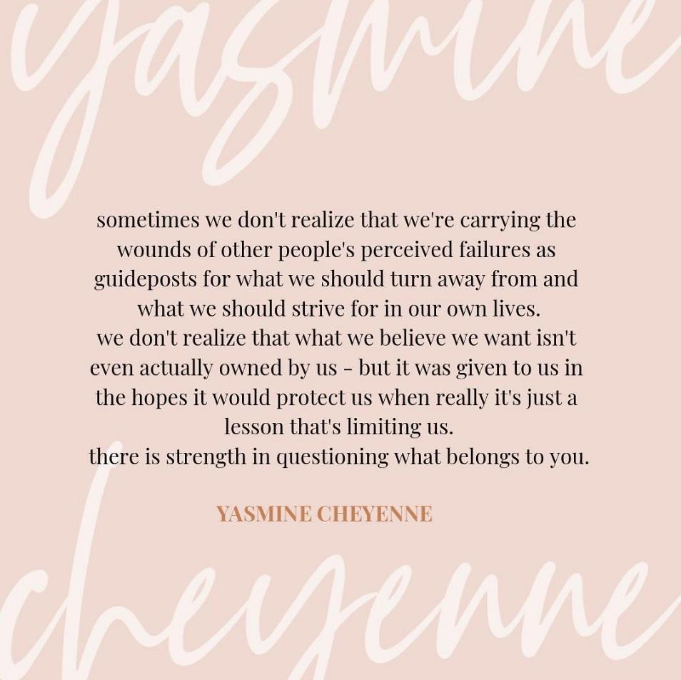 Source:  @yasminecheyenne  on Instagram