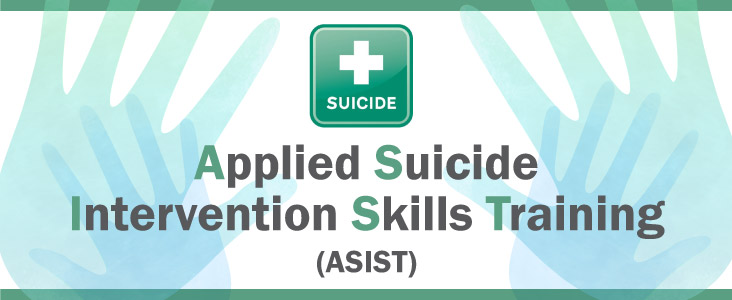 Completed Applied Suicide Intervention Skills Training on May 3. 2019,