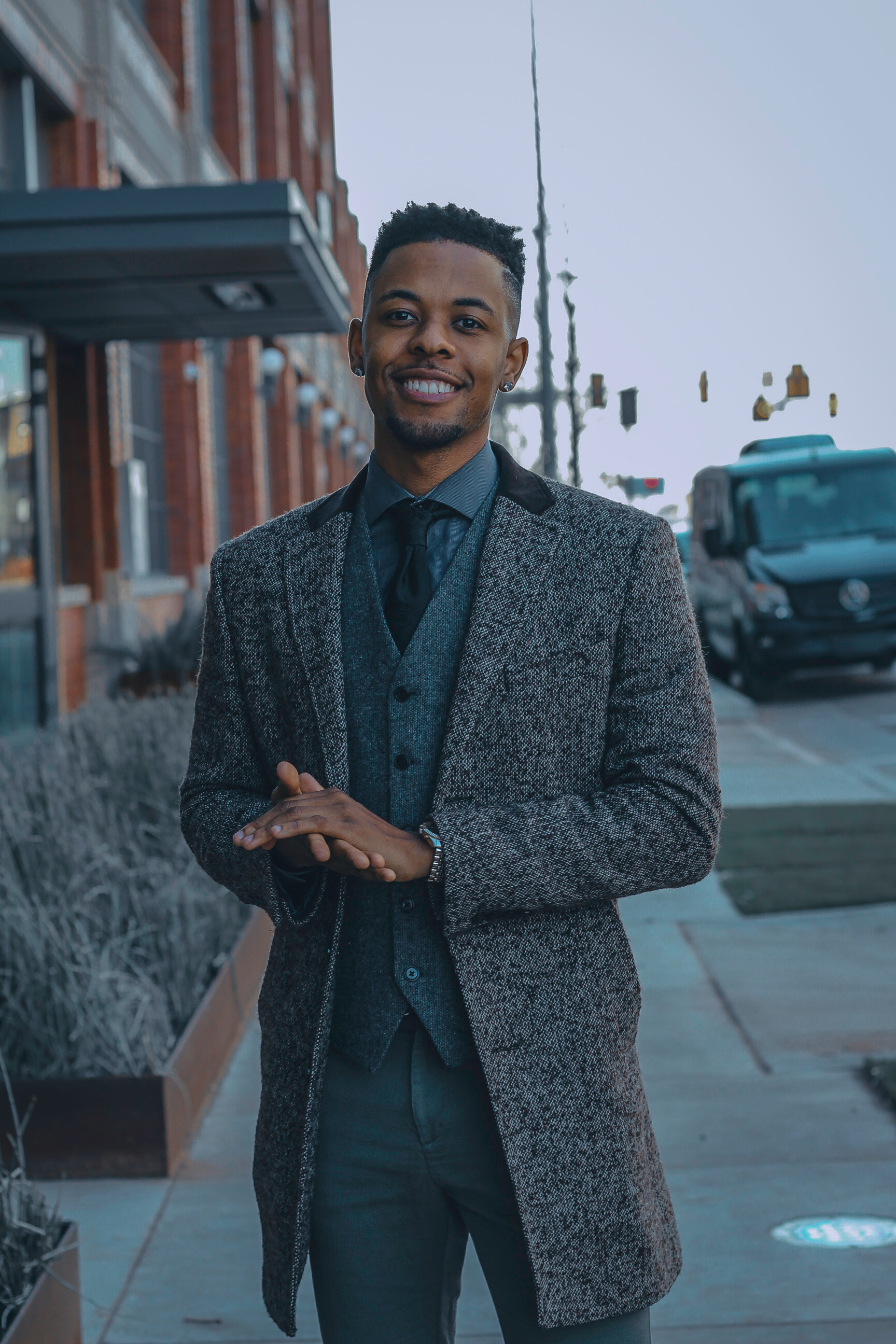 Addam Francisco - Lead Writer, Youth Mentor, Model. Addam Joined Grand Gentlemen to help other young men find their voice.