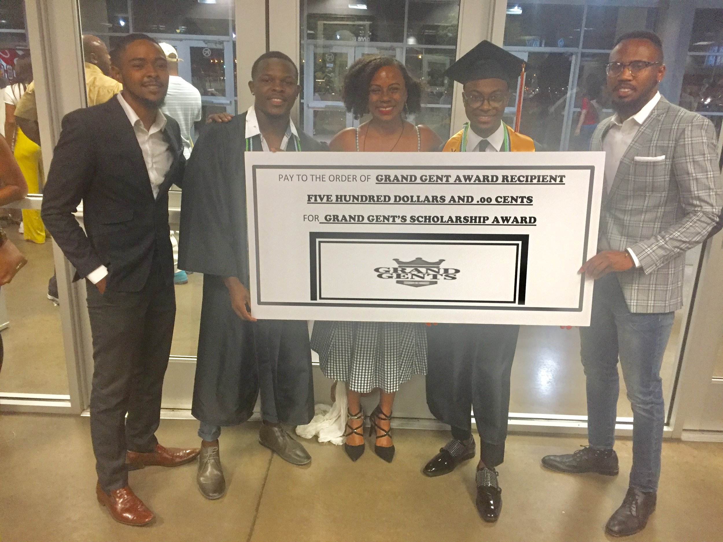 To find out more about our scholarship for young men graduating from OKC public schools click HERE -