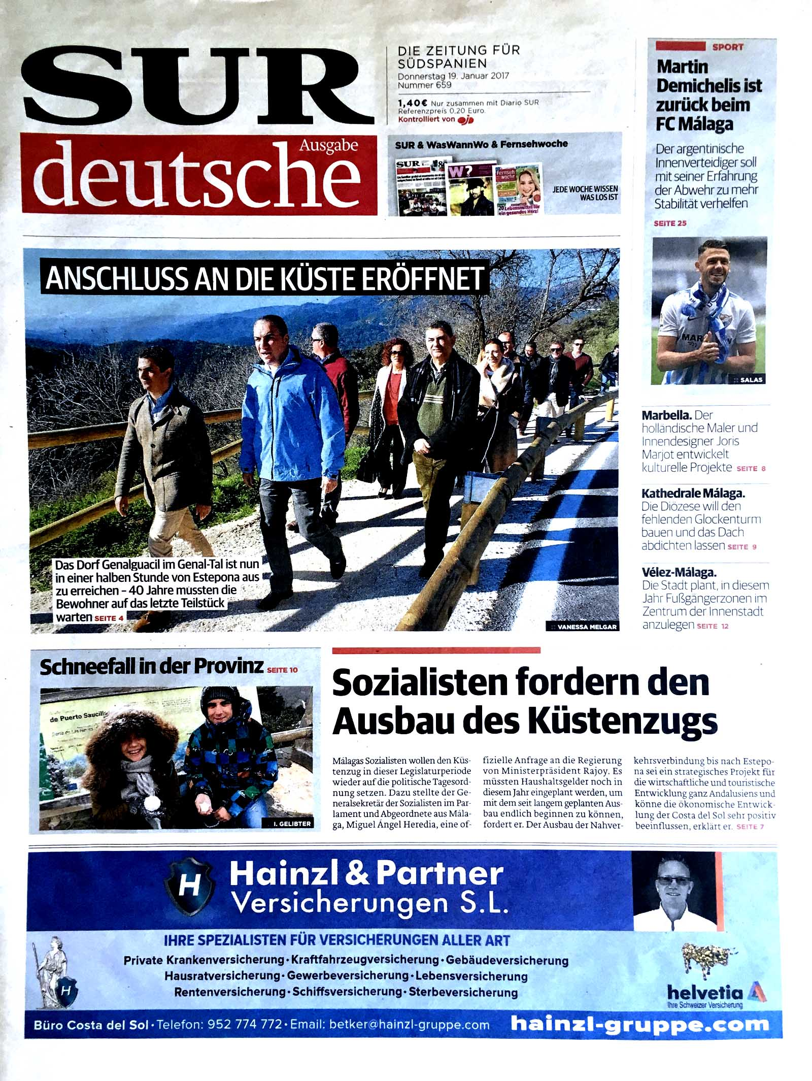 portada-pagina-completa-eldevenir-art-gallery-prensa-diario-sur-aleman-encuentros-y-certezas.jpg