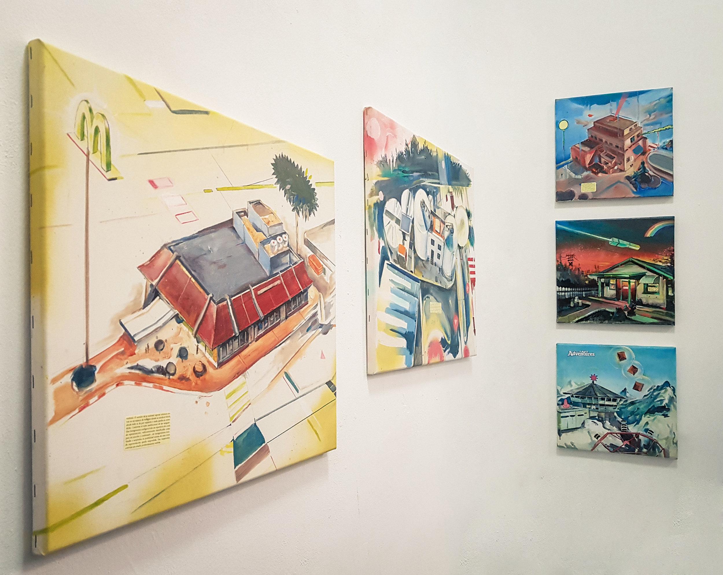 """Jonathan Notario, """"Arcade Paintings"""" - 27 abril - 1 junio 2019Galería Zunino, Sevilla"""