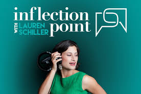 Katie Goodman on Lauren Schiller's podcast Inflection Point as a Guest Speaker on Comedy, Improvisation, Self-Help, mindfulness, and women's issues.