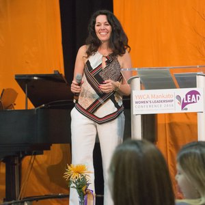 Katie Goodman public speaker and life-coach specializing in women's leadership and women's empowerment.