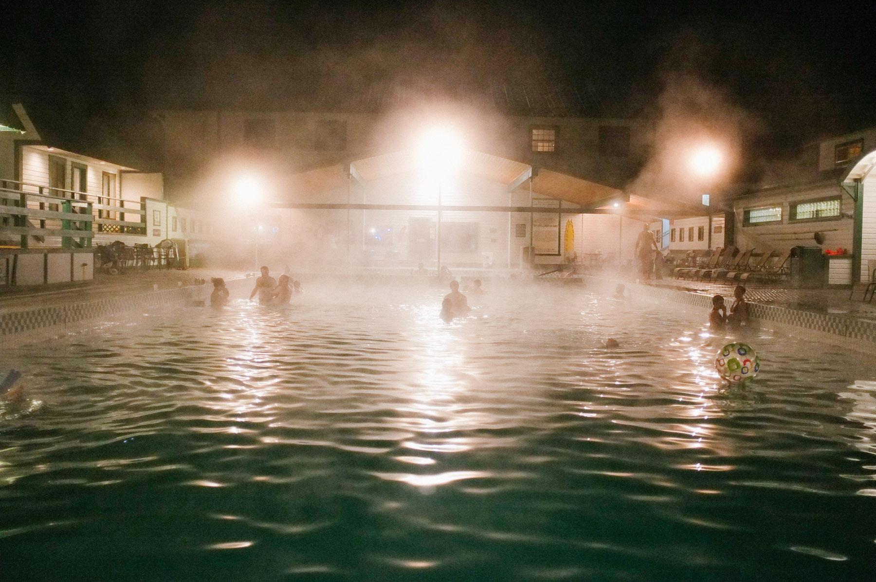 Chico Hot Springs, Montana, Feb 1& 2, 2020 -