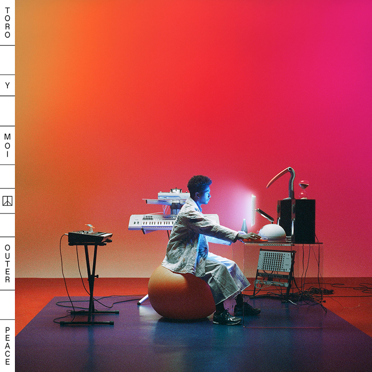 Outer Peace album art by Toro Y Moi.
