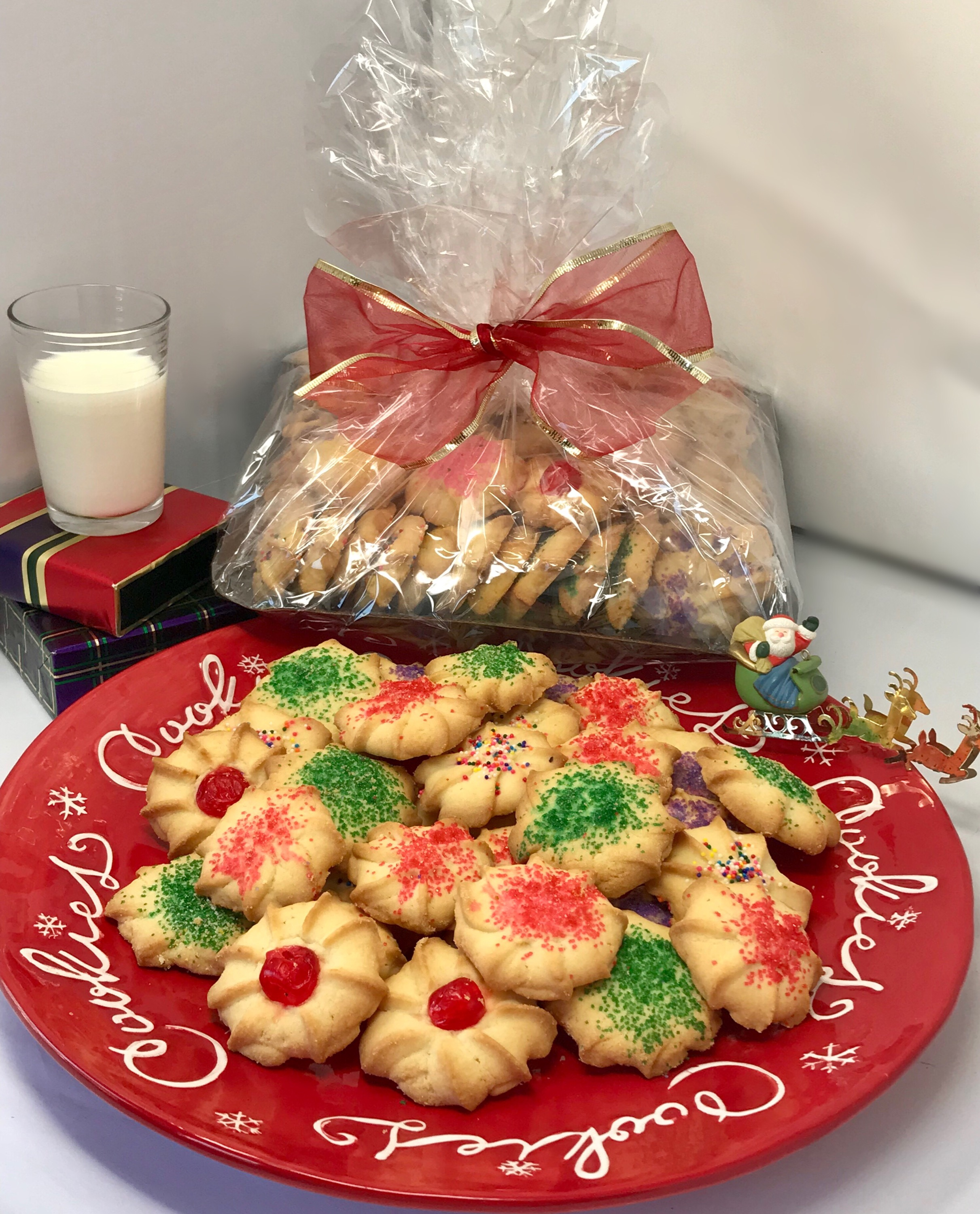 2 lb. Butter Cookie Tray
