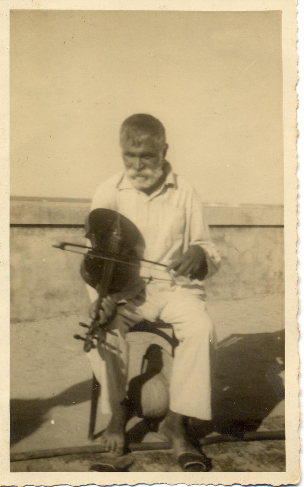 Foto: Luiz Heitor Corrêa de Azevedo, 1943. Laboratório de Etnomusicologia/UFRJ, Coleção LHCA.
