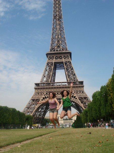 Summer 2007 in Paris, France