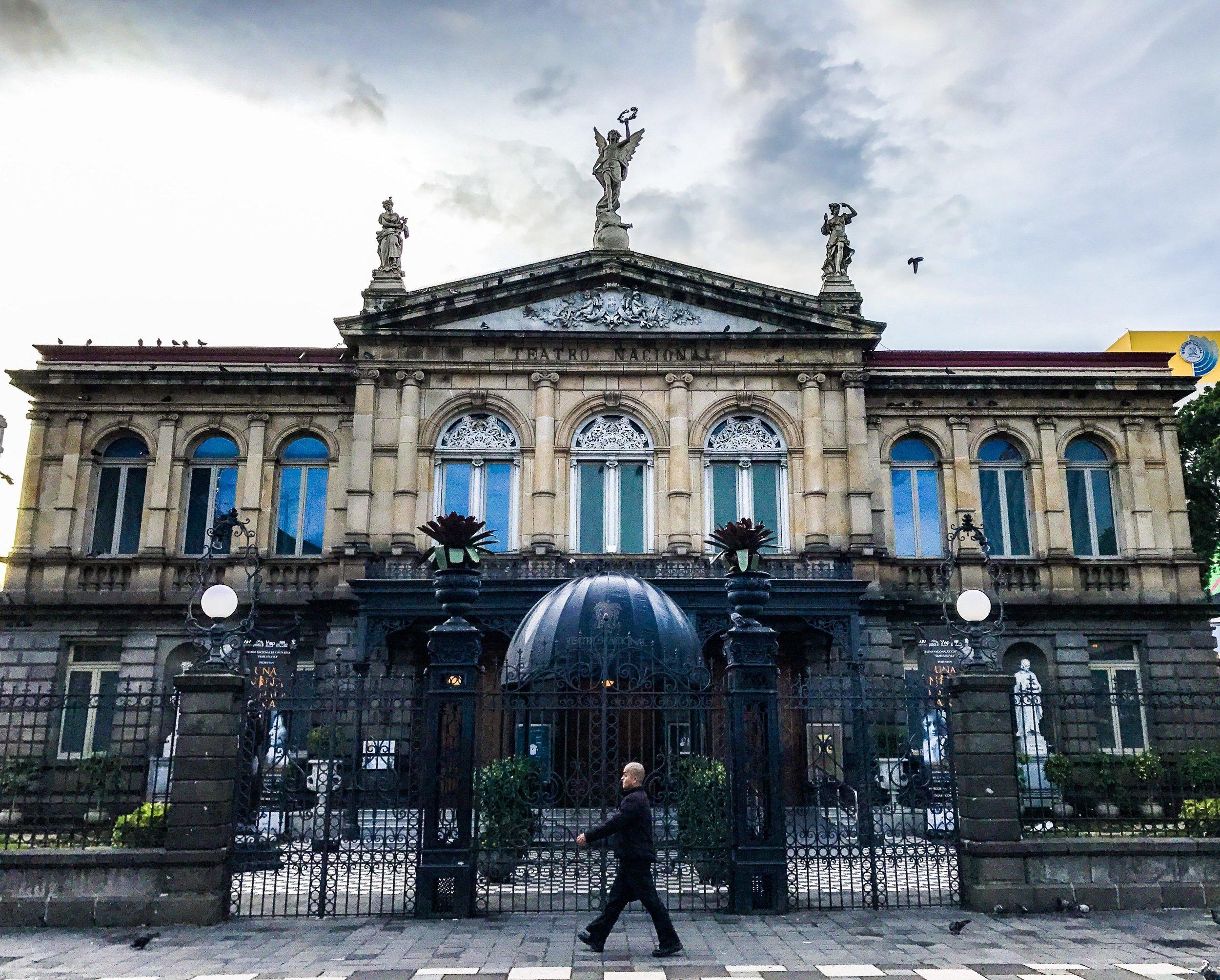 El Teatro Nacional de Costa Rica