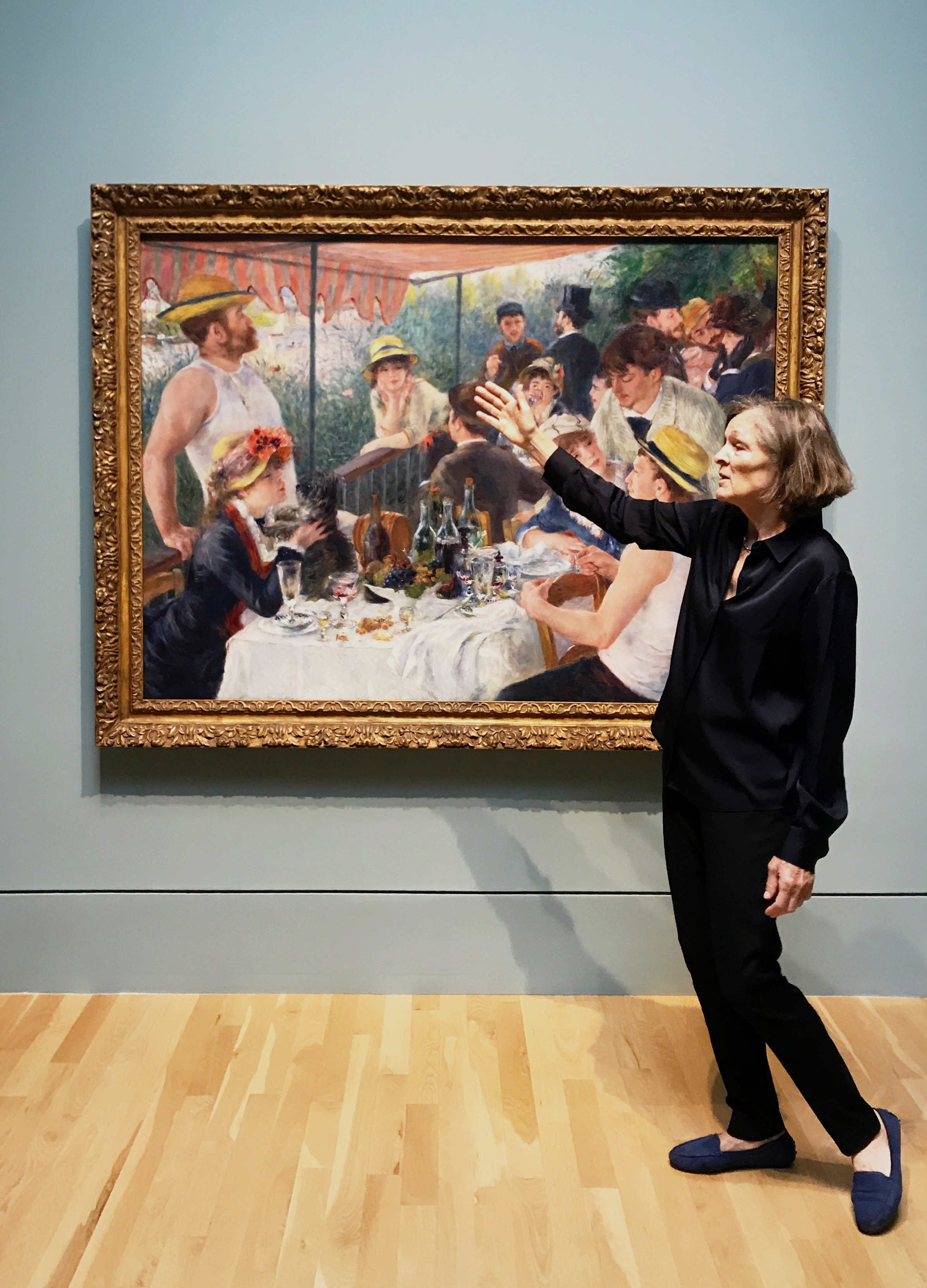 Chief Curator Emerita explains the social and technical history of Renoir's famous Luncheon of the Boating Party, the central piece of the exhibit