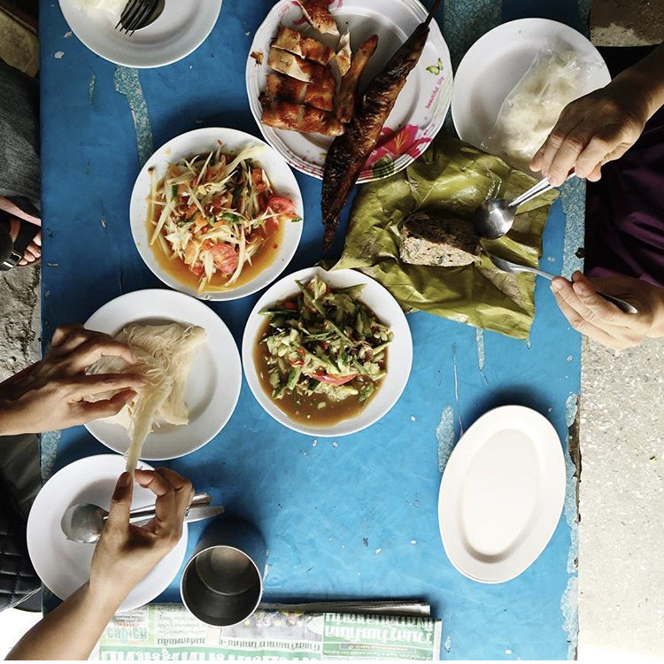 I ate about six meals a day while in Bangkok. From roasted duck to barbequed fish to strange meats and desserts the ingredients of which I'll never know, and all at about 70 cents, it's a food-lover's paradise. If possible, befriend locals and have them lead you to the best street food.