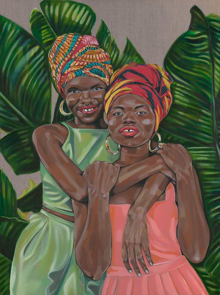 Isata and Mariama Thomas
