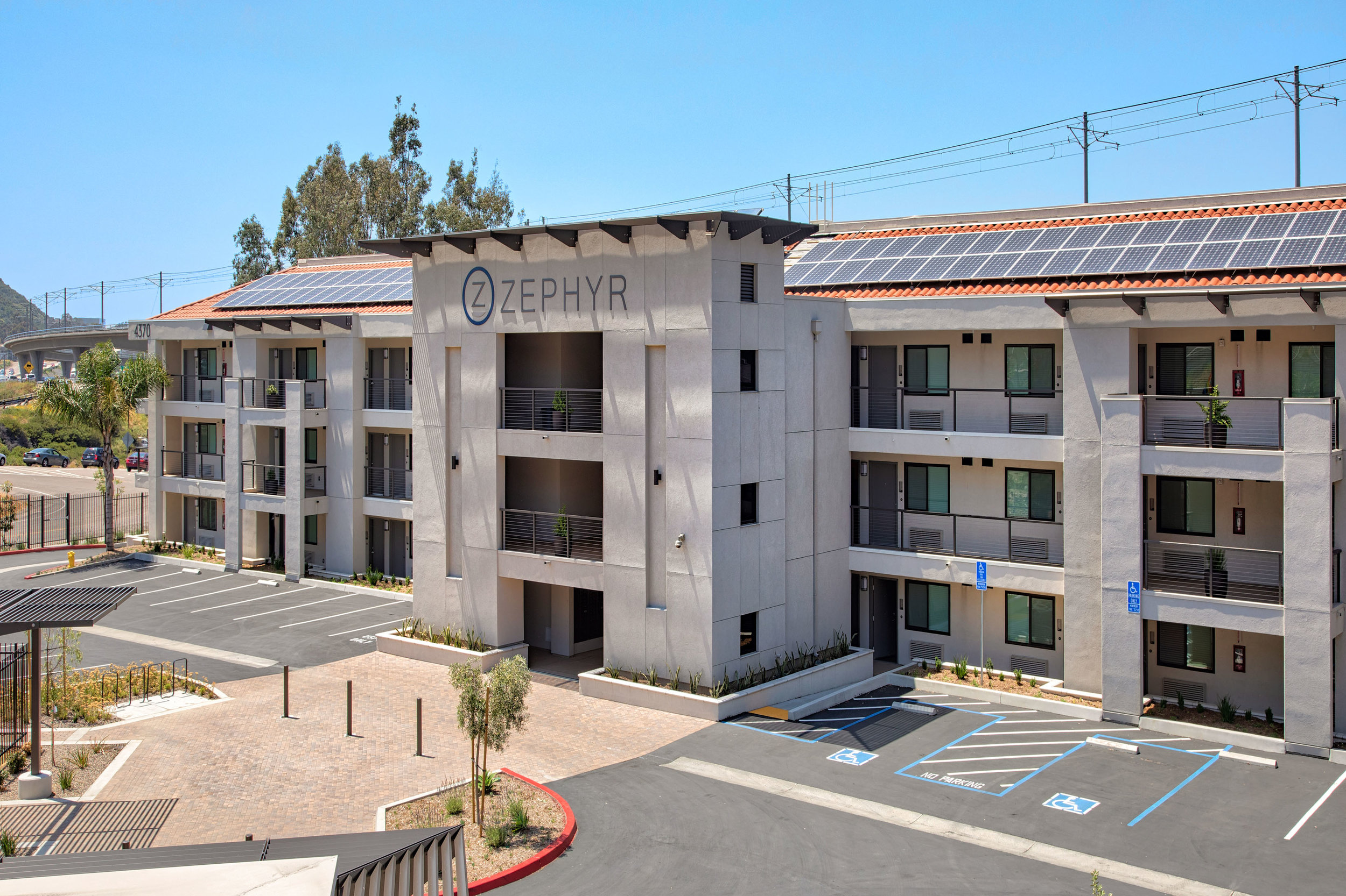 Less than two years to convert Motel 6 to new housing.