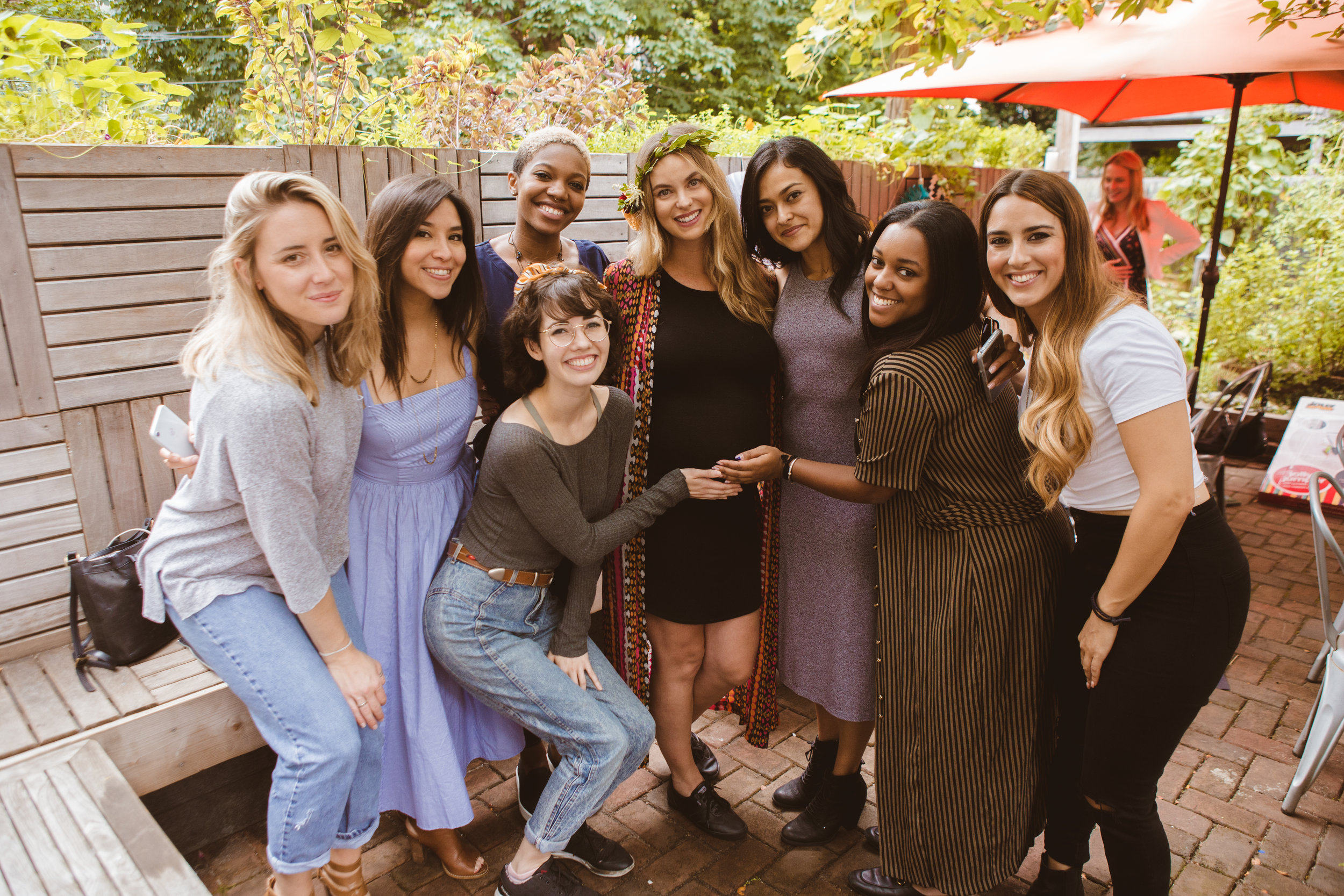 Jessica's Baby Shower - Faun Brooklyn
