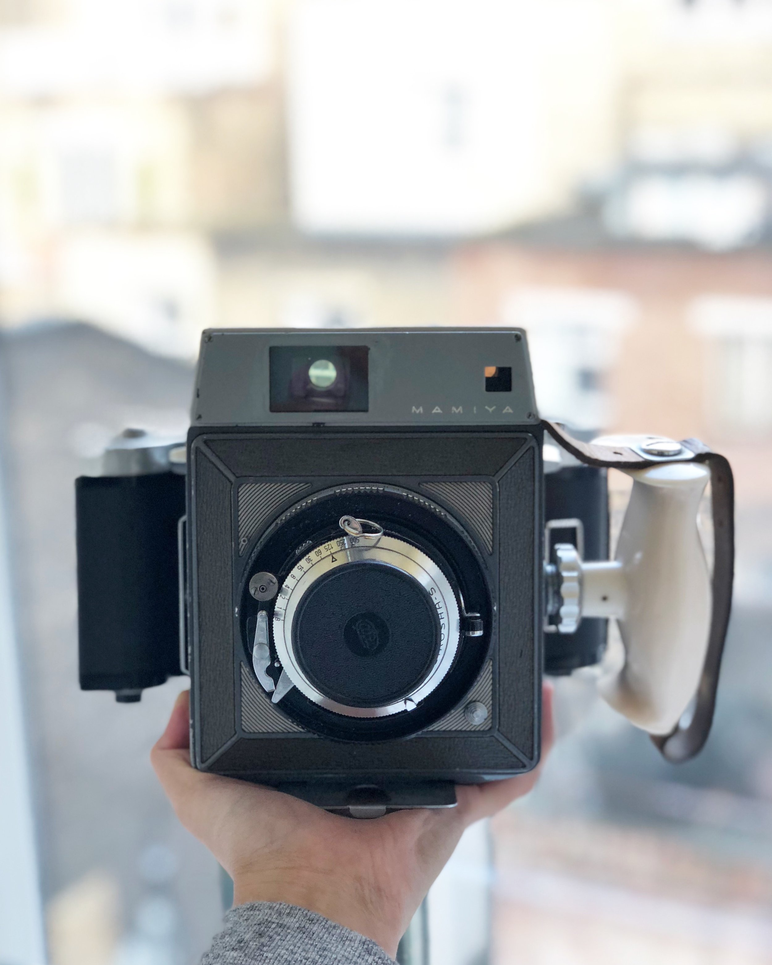 The Original Mamiya Press, also my original Mr. Cad purchase before I traded it with their newly acquired Super 23.