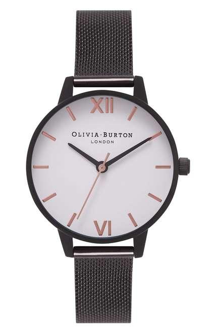 Olivia Burton Mesh Strap Watch