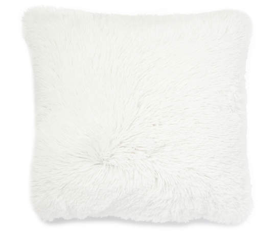 Polar White Decorative Throw Pillow