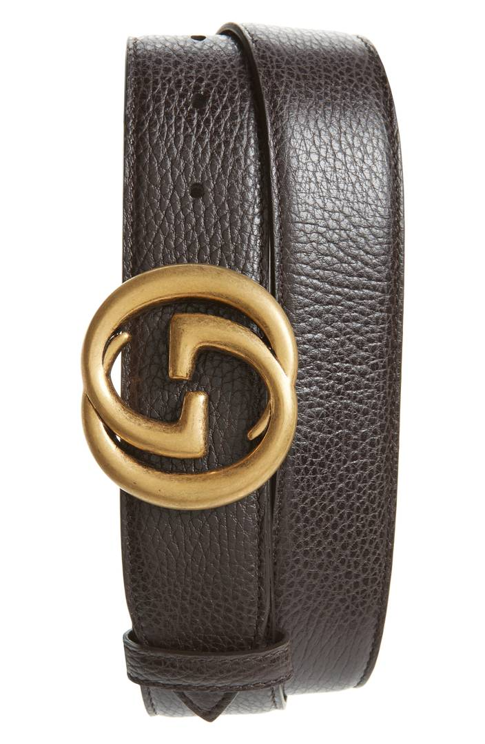 Gucci Interlocking-G Leather Belt