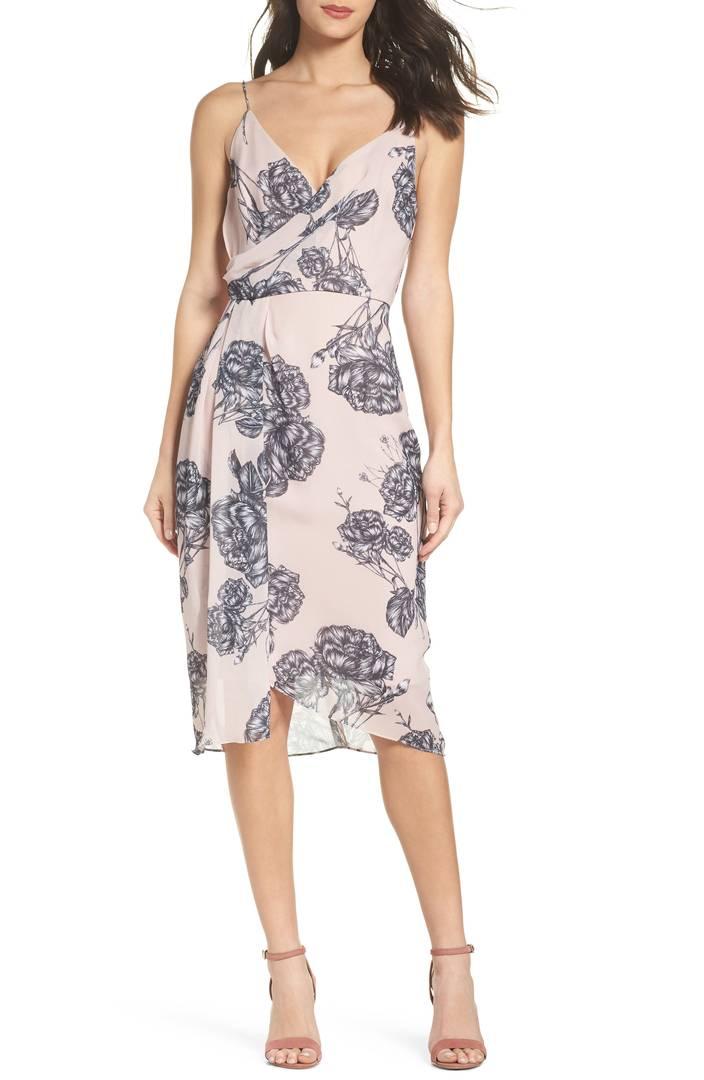 Cooper St Bellini Rose Drape Dress