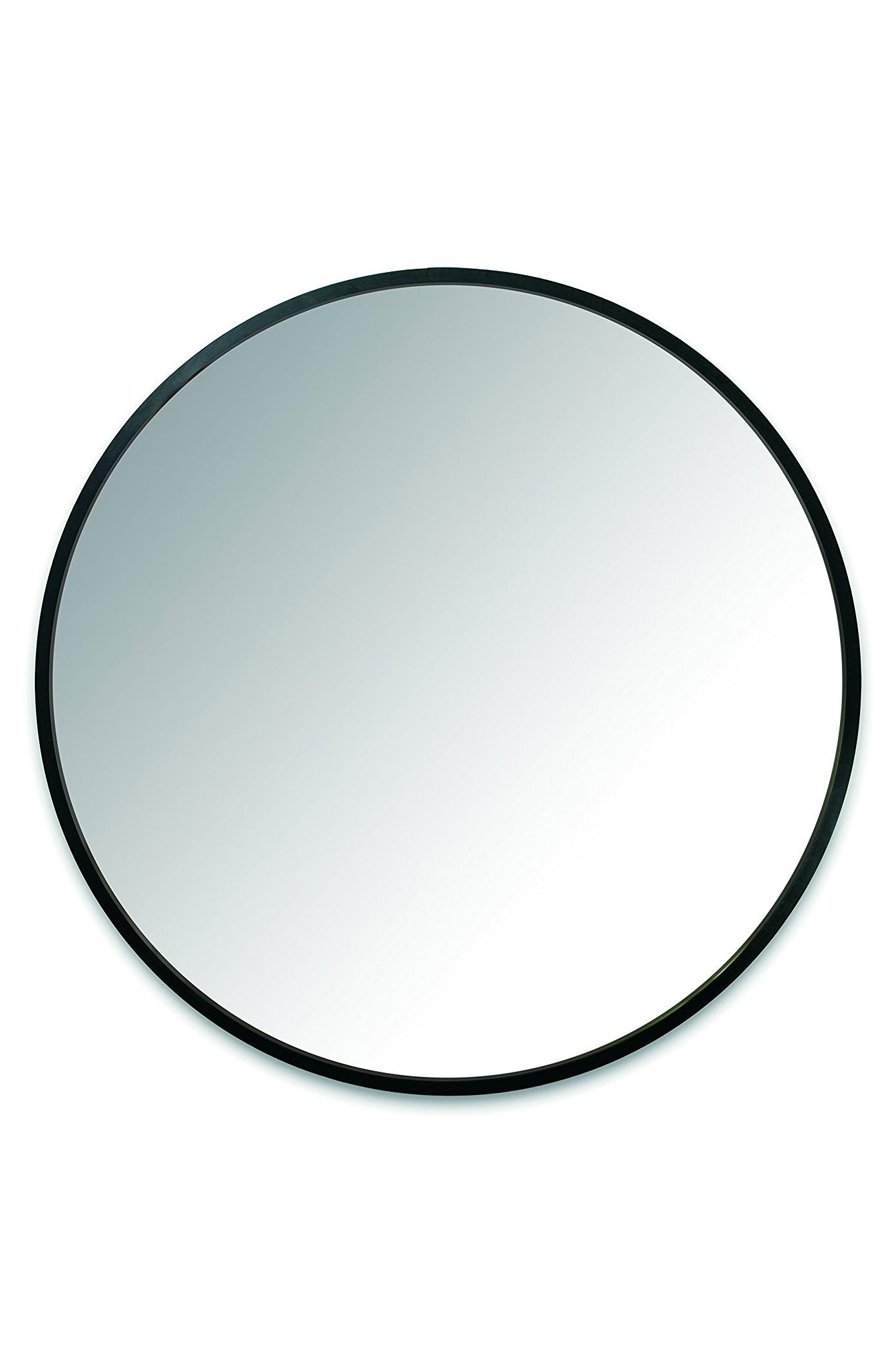 Round 37-Inch Wall Mirror
