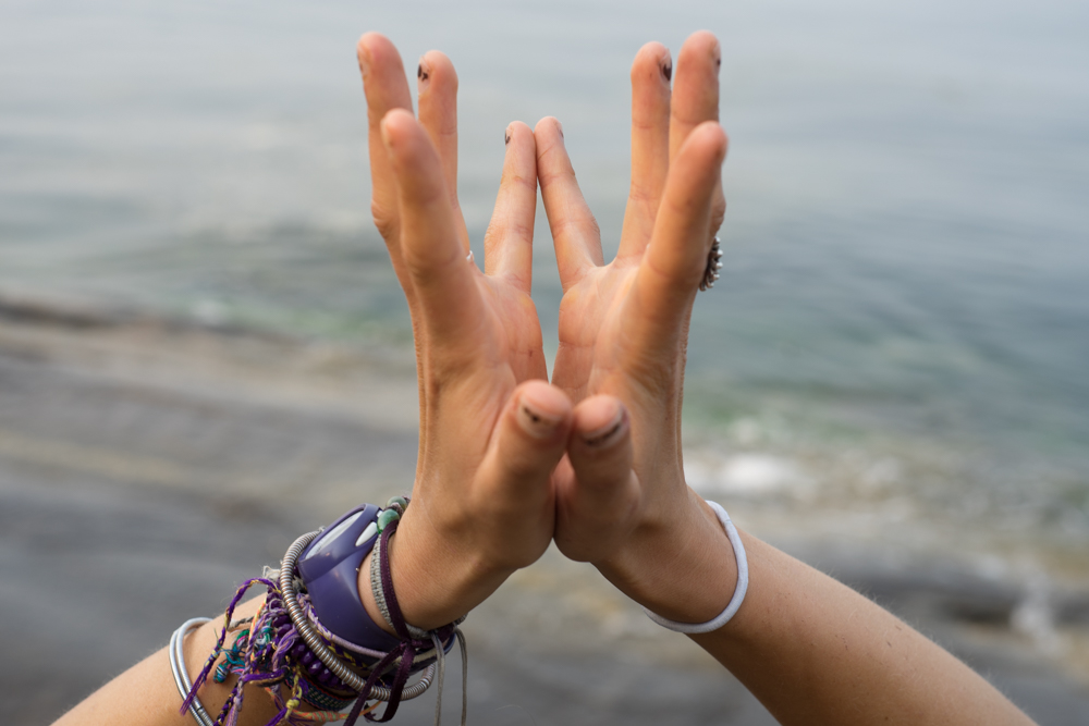 The humble lotus mudra signifying openness, trust, and perseverance