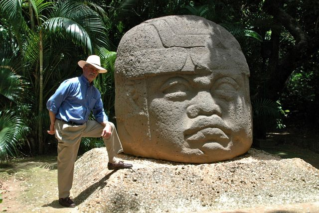Colossal Head. Olmecs. Circa 1800 -1500 BCE