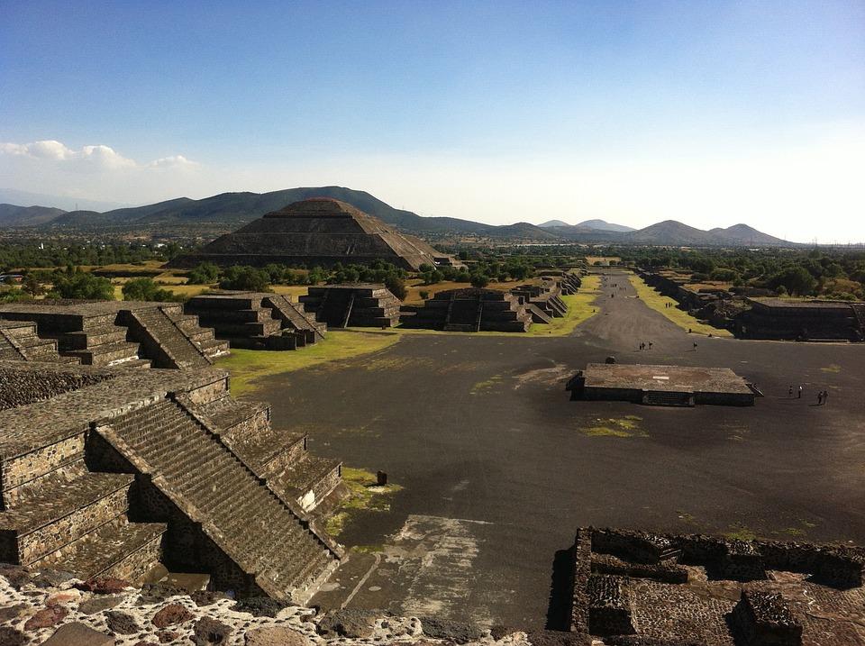 Teotihuacan. Circa 450 CE.