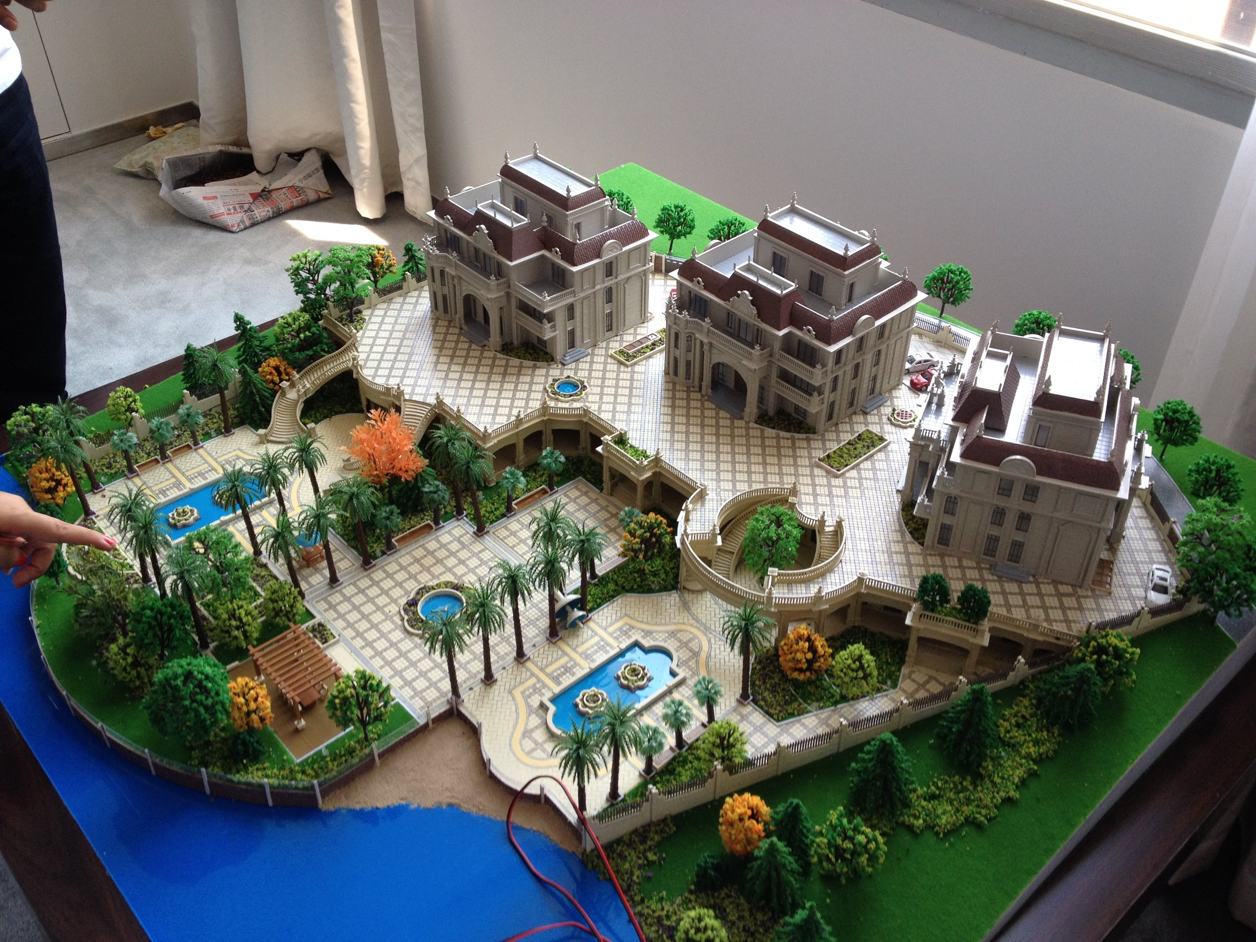 Private residence design.