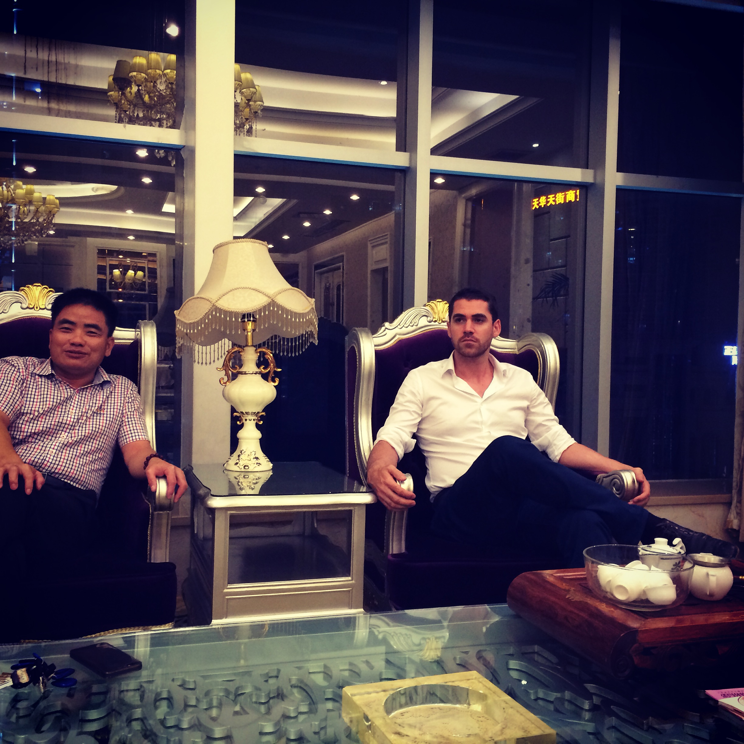 Client meeting, China.