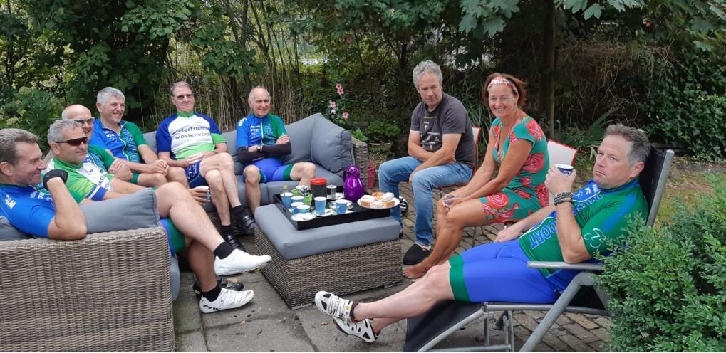 Bij Adelien en Heinz op de koffie in Heerde.