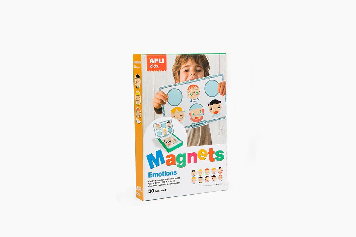 Juego infantil magnético