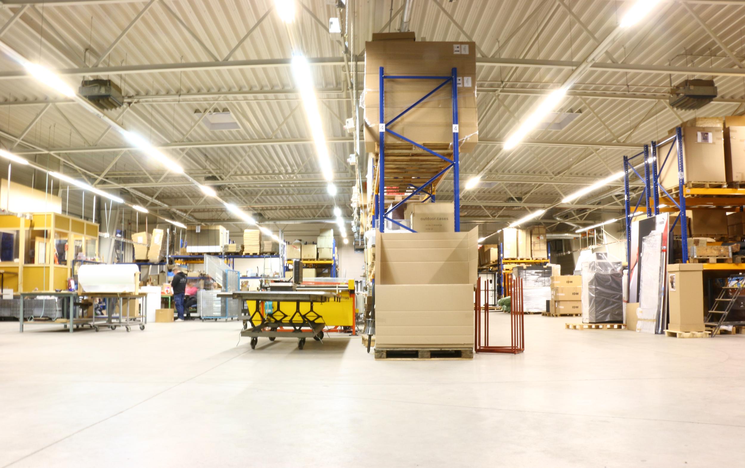 STORAGE - Handling of logistics, transport, & storage