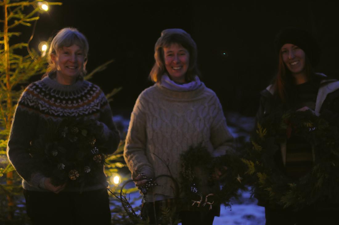 Tack för i år! - önskar Cilla, Mona & Lovisa