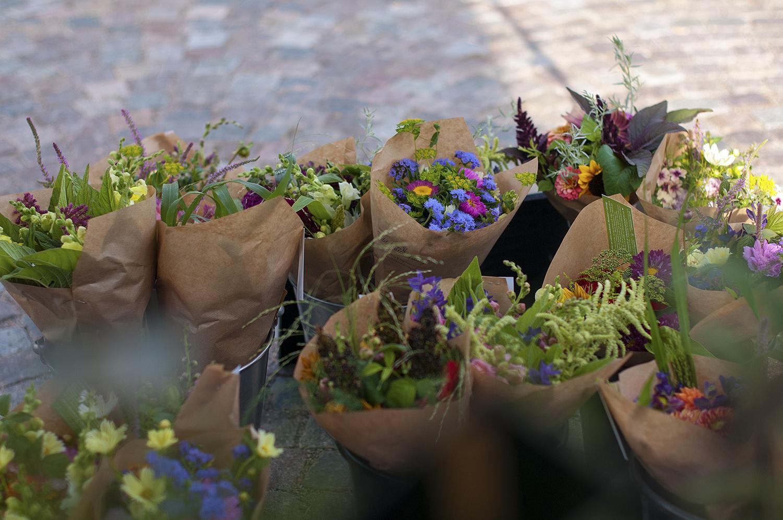 Bondens egen marknad - På vattentorget i Växjö
