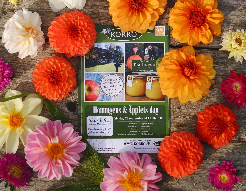Honungens & Äpplets dag på Korrö - Skördefest