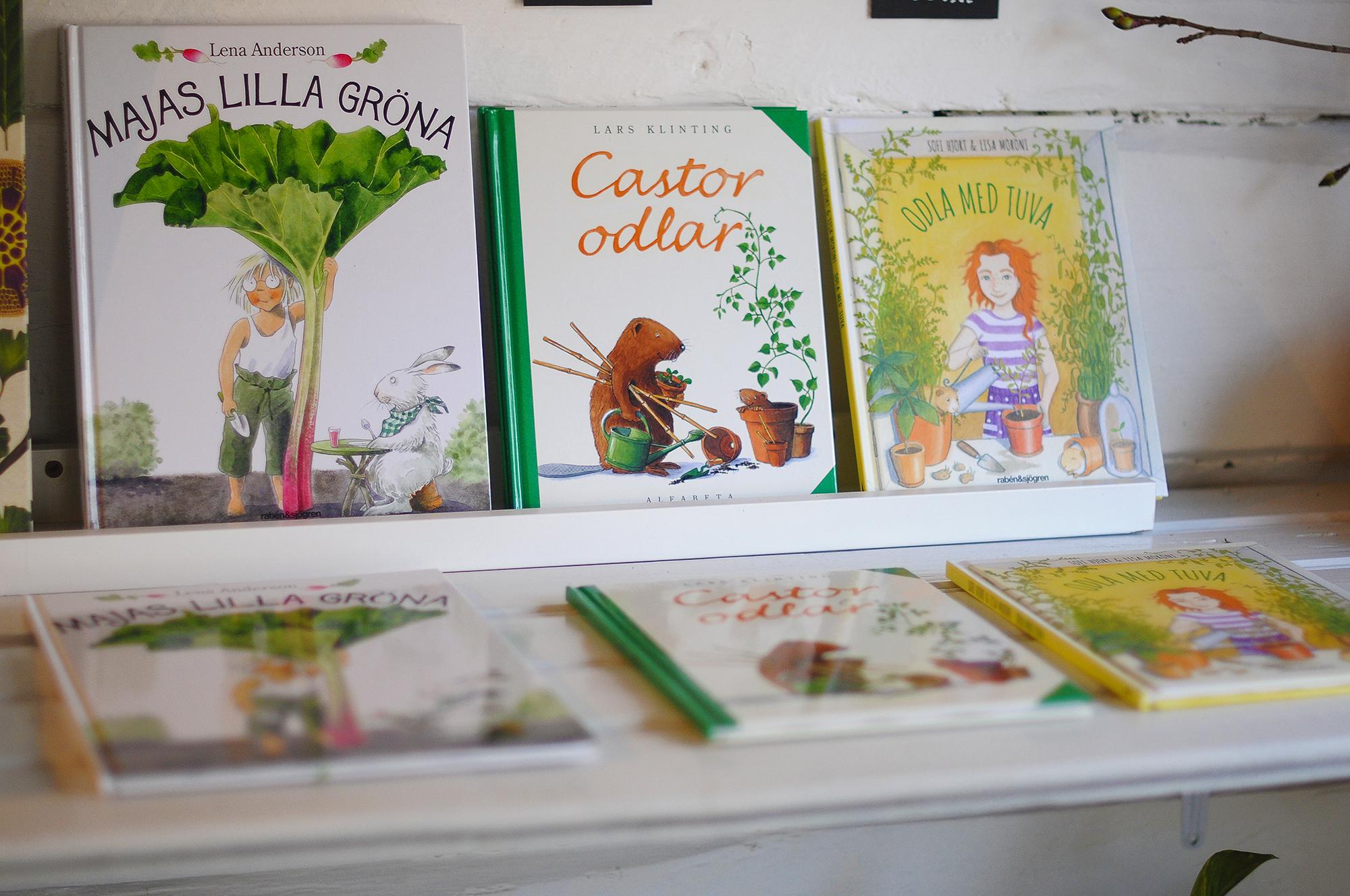 Trädgårdsböcker, nya & begagnade (nytt för i år)