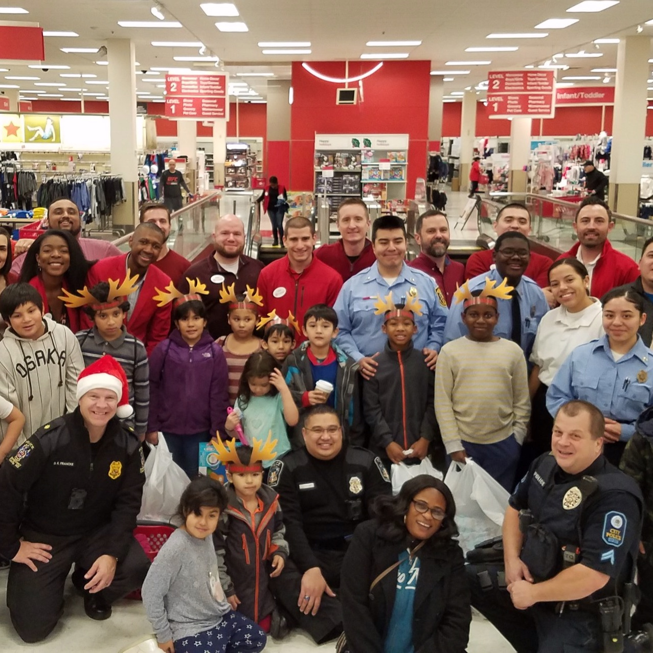 Annual Heroes and Helpers Event at the Rockville Target - Dec. 13, 2018
