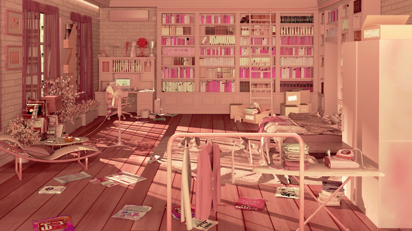 Wang Yijun, 'Pink Room', 2018. Image courtesy the artist and Fresh Trend.