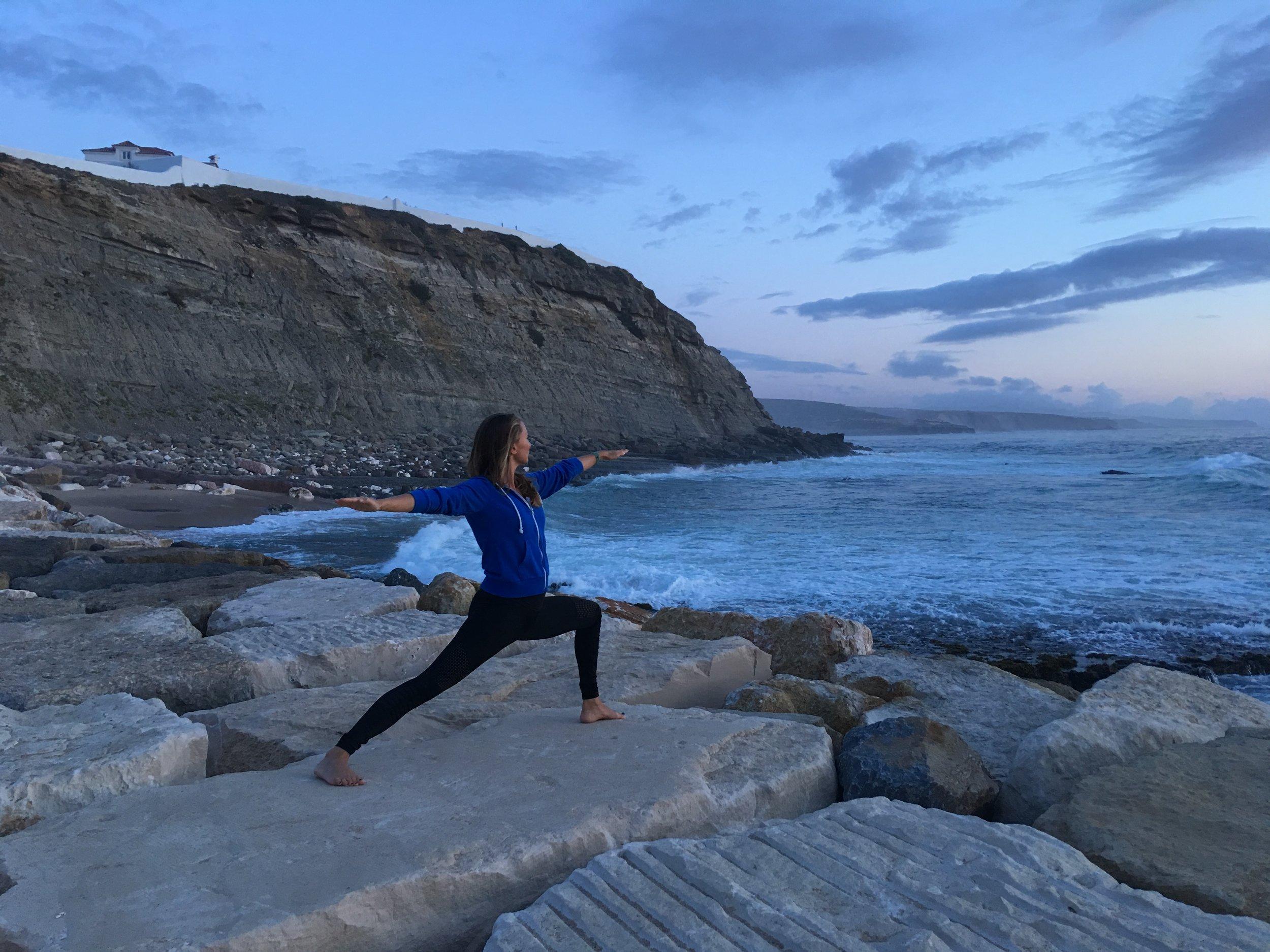 vinyasa flow yoga ericeira