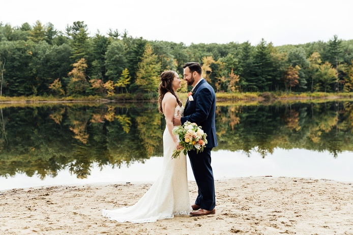 Kim & Joe - Stony Brook Conservation, Massachusetts / Photo Credit: Samantha Melanson